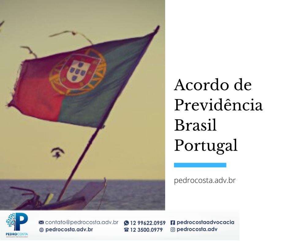 Acordo Internacional de Aposentadoria Brasil Portugal